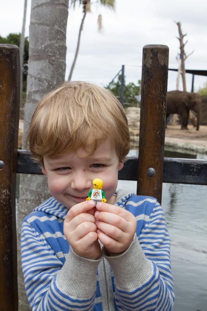 Gumnut with his Mini-G